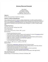 Sample Actuarial Resume by Medical Science Liaison Resume U2013 Resume Examples