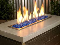 Firepit Glass Aesthetic Pit Glass Stones Fireplaces Firepits