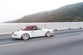 pink convertible porsche rwb 964 wide body u2013 rauh welt begriff hong kong rwb