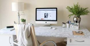 Marble Desk Accessories All White Diy Room Decor Diy Projects For