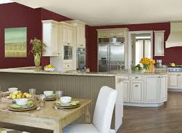 Benjamin Moore White Dove Kitchen Cabinets Red Kitchen Ideas Rich Red Kitchen Paint Color Schemes