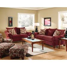 Target Living Room Furniture by Corinthian Cebu Sofa Wine 2833s Conn U0027s Home Plus 699 00