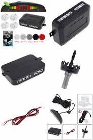 visit to buy car parking sensor kit system car auto led display 4