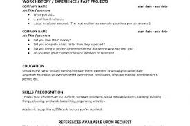 Teen Resume Examples by First Resume For Teens Reentrycorps