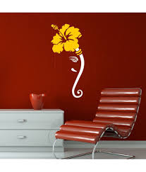 wall stickers in online wall stickers in online chipakk ganesha white wall sticker