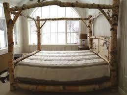 bedding elegant king size canopy bed frame caledonian