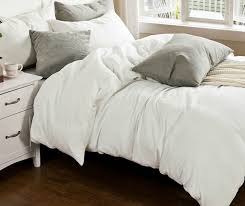 French Bed Linens Duvet Covers White Linen Duvet Cover Set Handcrafted By Superior Custom Linens