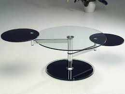 Designer Coffee Tables modern round glass coffee table ideas home design by john