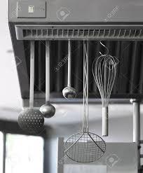 industrial cooking restaurant kitchen equipment stock photo