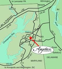 Wilmington De Zip Code Map by Find Us Angelica Nurseries Inc