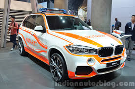 Bmw X5 Red - bmw x5 emergency vehicle front three quarters at iaa 2015 indian
