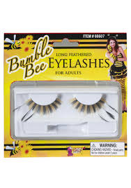 Bumble Bee Makeup For Halloween by Honey Bee Eyelashes