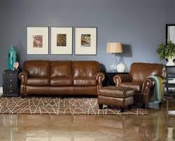 lane emerson leather queen sleeper sofa
