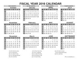 printable calendar generator 2016 fiscal year calendar usa 06 free printable templates