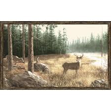 ergonomic deer wall mural 40 deer scene wall murals natural autumn chic deer wall mural 75 deer wall mural wallpaper whitetail deer
