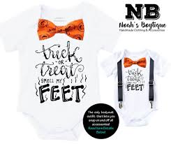 toddler boy halloween shirts baby boy halloween trick or treat smell my feet u2013 noah u0027s