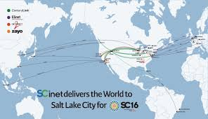 Google Fiber Austin Map by Sc16 Conference Brings World U0027s Most Powerful Network To Salt Lake