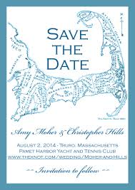 save the date for wedding on cape cod by ridesign studio antique