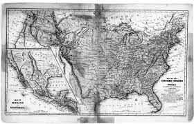 Map Of The Continental United States by Digital History
