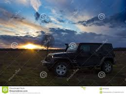 black and teal jeep novgorod region russia march 15 2016 photo of jeep wrangler at