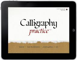 28 best calligraphy practice with ipad images on pinterest