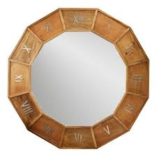 muse d u0027orsay wooden clock design wall mirror u2013 laurier blanc