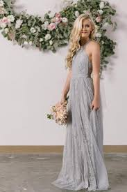 grey maxi dress isabelle grey tulle lace halter maxi dress morning lavender