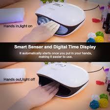 sun4 48w uv led nail lamp nail gel dryer nail art salon nail dryer