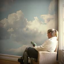 wandgestaltung fototapete wandgestaltung fototapete mit wolken fototapeten