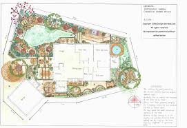 interesting sketch showing side yard plan best garden design plans