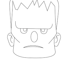 frankenstein coloring pages print classic monster movie