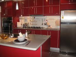 Red Kitchen Cabinets Red Kitchen Faucets Design Photos Ideas 100 Kitchen Faucet At