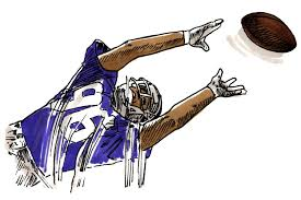 football catch sketch