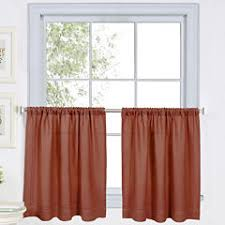 Jc Penny Kitchen Curtains by 24 Inch Red Kitchen Curtains For Window Jcpenney