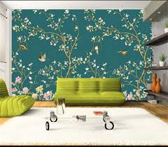 popular hand painted murals buy cheap hand painted murals lots 3d wallpaper custom photo non woven mural hand painted flowers birds 3d wall murals wallpaper