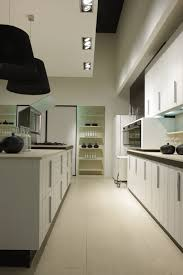 best looking galley kitchen design with wooden cabinet idea turn