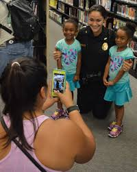 cookies u0026 milk with a cop becomes photo op for kids the apopka voice