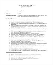Security Officer Job Description For Resume by Security Guard Security Guard Jobs Security Guard Duties