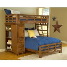 Half Bunk Bed Hardy Loft Bed And Storage By Greyson Living Free