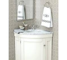 Pottery Barn Mirrored Vanity Vanities Rounded Corner Vanity Mirror Corner Mount Bathroom