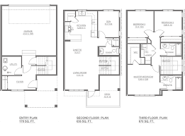 madison new home floor plan altius townhomes streetside