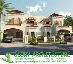 home front view design pictures in pakistan 3d view pakistan house 3d view islamabad house 3d view karachi