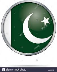 Oakistan Flag Vector Pakistani Flag Button Pakistan Flag In Glass Button Style