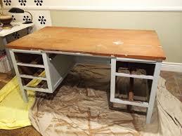 fabriquer bureau tuto pour fabriquer un bureau en béton bricobistro