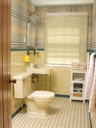 black and yellow bathroom ideas redecorating a 50s bathroom hgtv