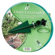 Garden Hose Extension Faucet Yardworks Faucet Extension Kit At Menards