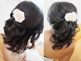 hair for weddings bridal hairstyle for medium hair tutorial weddings prom