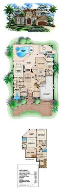 florida house plans with pool best 25 house plans with pool ideas on floor plans