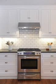 white kitchen subway tile backsplash beveled subway tile with grey grout this but would want