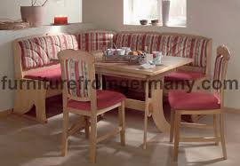dining booth dining table l shaped bench with back design in